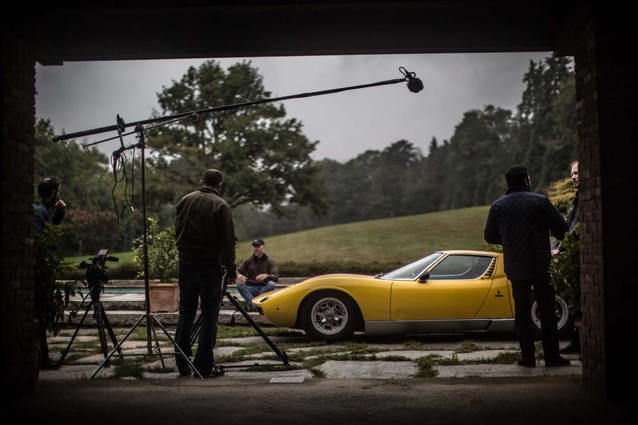 A still from <em>Driving dreams</em>, that investigates the golden age of automobile design.