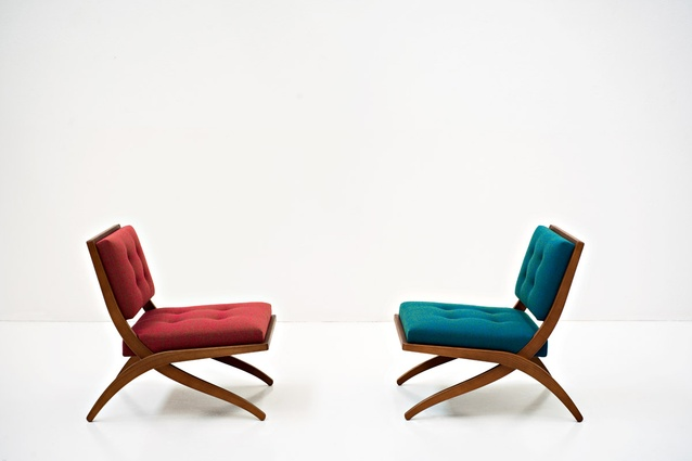 Bianca armchair by Franco Albini for Tacchini.