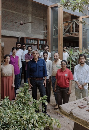 Bijoy Jain and the Studio Mumbai team.