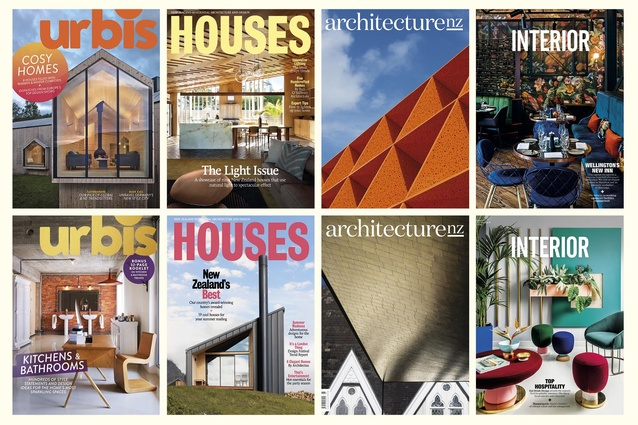 "Treat yourself and a friend to a yearly subscription to one of AGM Publishing's range of <a href=""http://agm.co.nz/store/"" target=""_blank""><u>architecture & design magazines</u></a>."