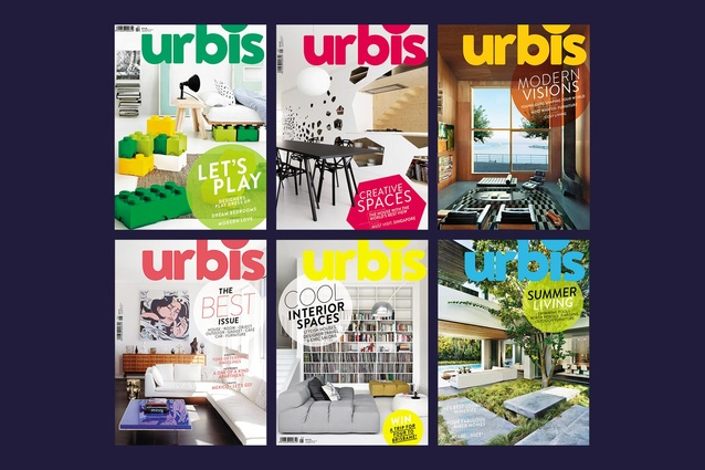 A one-year subscription to <em>Urbis</em> magazine for you, and four of your friends.