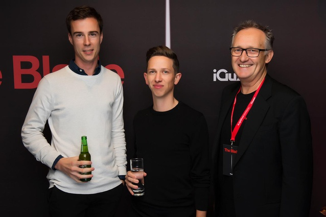 Attendees at the iGuzzini 'The Blade' launch at ECC, Auckland.