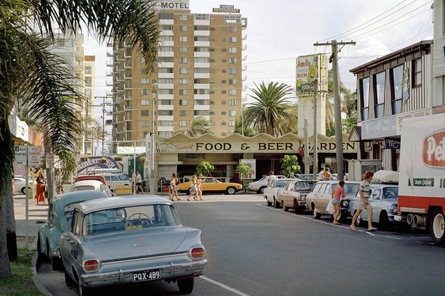 THEN: Orchid Ave looking south to Cavill Avenue, 1973.
