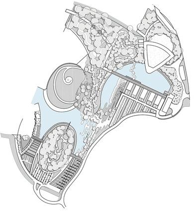 Stage 2 Plan of the Australian garden.