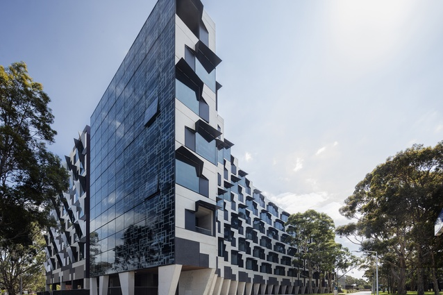 Monash University Logan Hall (VIC) by McBride Charles Ryan.