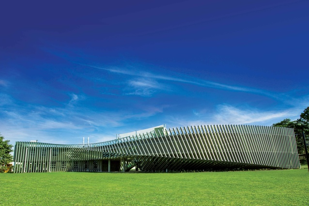 TAS Science Facility by Charles Wright Architects.