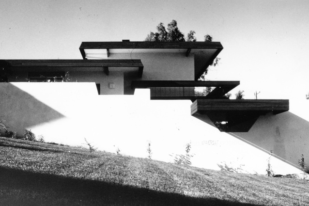 Dingle House in Canberra designed by Enrico Taglietti.