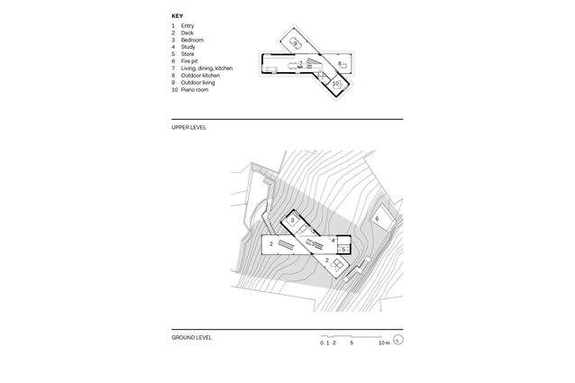 Floor plans for House in Hamilton.