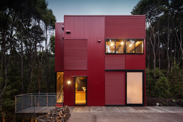 Housing winner: Red House by Cross Clarke Carnachan Architects.