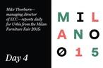 Milan Furniture Fair 2015: Day 4