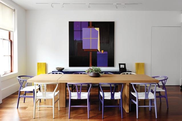 2013 Residential Decoration and Best international Design awards: Tribeca Loft by Nexus Designs.