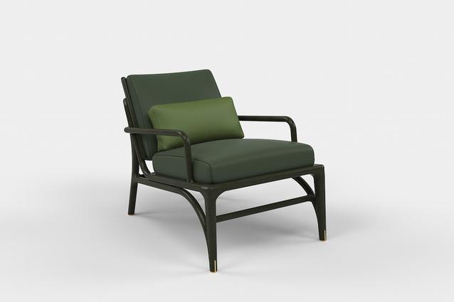 Cigar chair from Akar de Nissim.