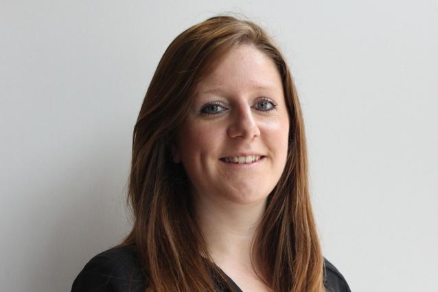 Marketing communications manager Sarah Rothwell.
