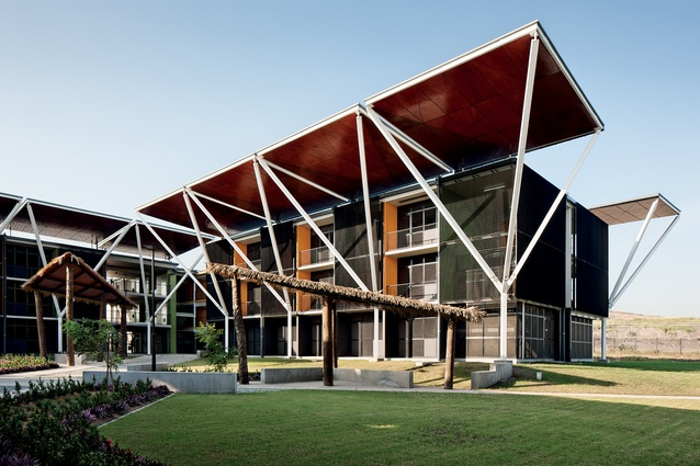 XV Pacific Games Village, Papua New Guinea by Warren and Mahoney.