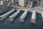 Concept design for $200m Circular Quay wharves upgrade unveiled