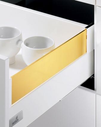 Hettich DesignSide drawer panels.
