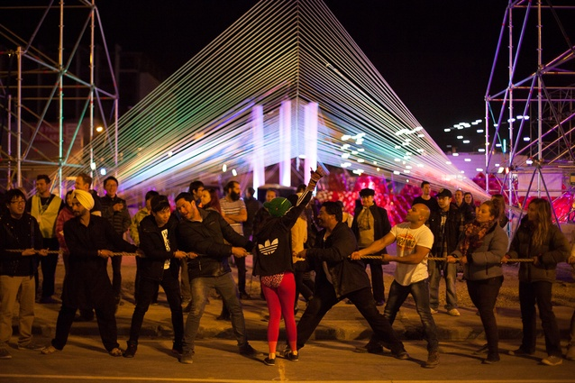 CityUps, a Studio Christchurch-led collaboration at FESTA 2014.