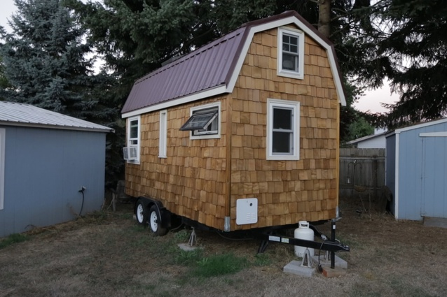 April's tiny house