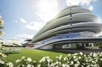 Bates Smart designs new members' stand for Flemington Racecourse