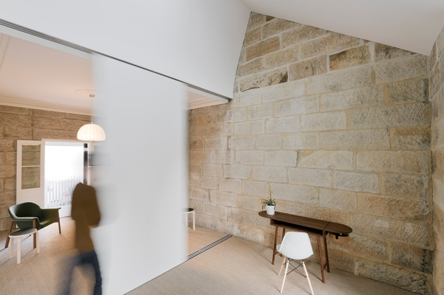 Little Old Balmain Sandstone Cottage by Carterwilliamson Architects.