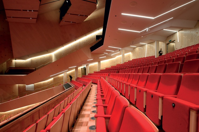 New performing arts seats installed in the theatre are better for patron comfort and appearance for circle and stalls.