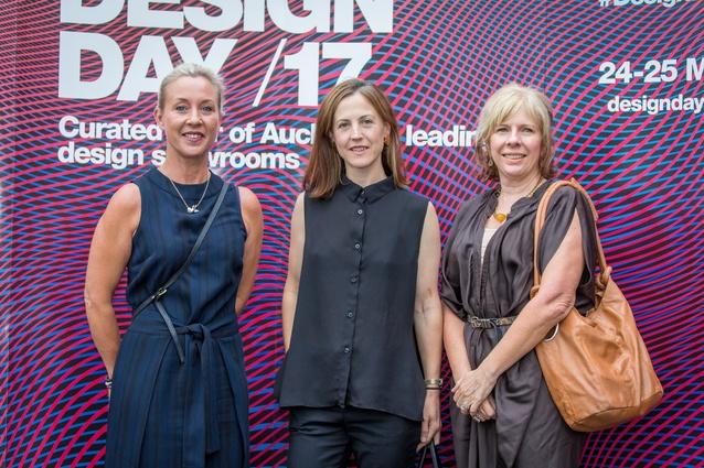 Kim Moynagh (Warwick), Rachel Thomson (Thomson Whisky) and Mary-Jane Copeland.