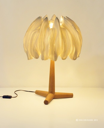 Alur lamp collection by Ong Cen Kuang.