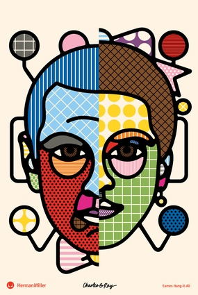 Craig & Karl's 2012 poster, <em>Eames Hang-It-All</em>.