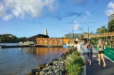 Going with the flow: Brisbane's new ferry terminals