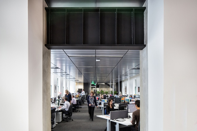 Interior Architecture Award: Ministry of Culture and Heritage by Warren and Mahoney Architects.