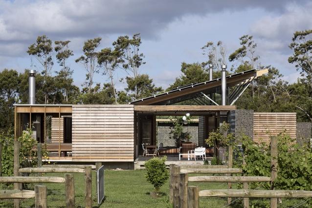 Housing category finalist: Bramasole, Waimauku, Auckland by Herbst Architects.