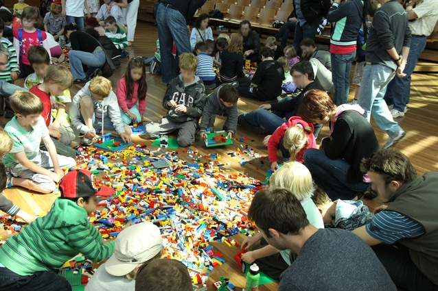 MA|A's perennially popular LEGO for Little Architects workshop.