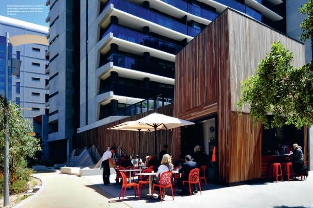 Serrata apartments by Hayball.