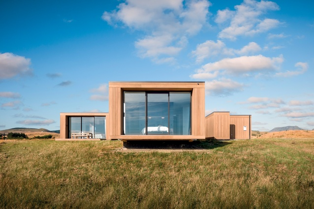This Canterbury Plains new home was built to eventually blend into the landscape.