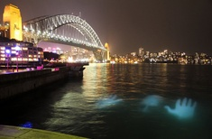 Vivid Sydney features eerie images