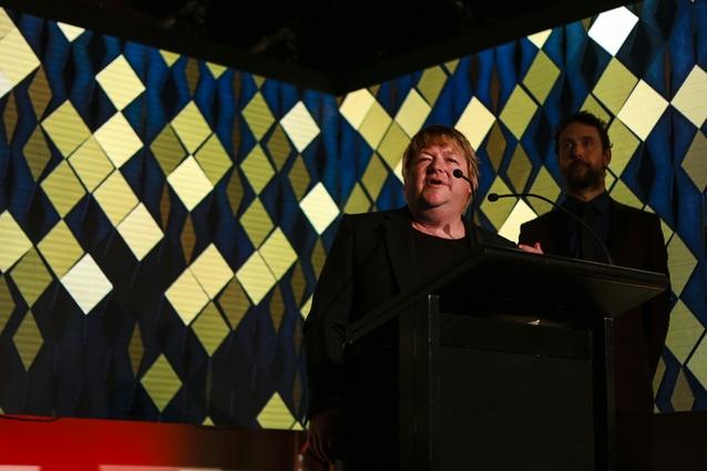 Jeff Fearon of Fearon Hay Architects. Supreme Award winner: Waiheke Island Yacht Club.