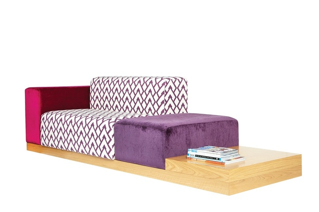 Ofset Modular sofa by Alexander Lotersztain.