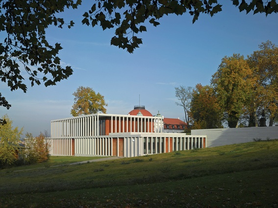 David Chipperfield's Museum of Modern Literature.