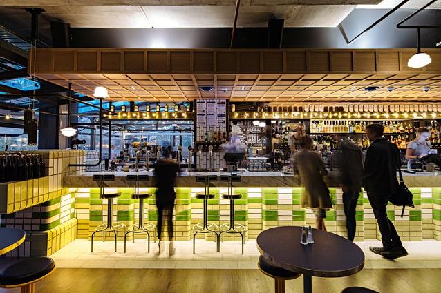 Hophaus Bier Bar by Maddison Architects.