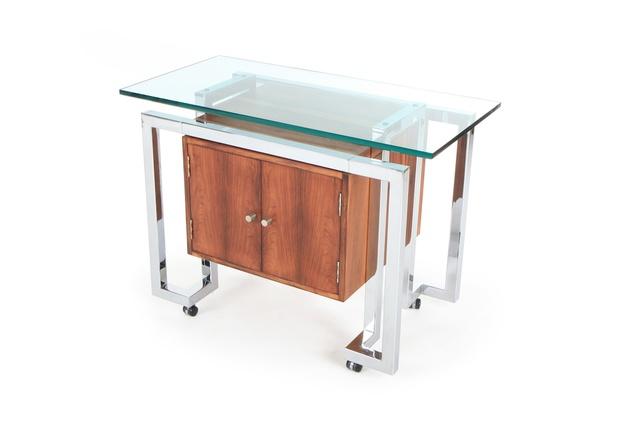 Pieff Mandarin bar cart.
