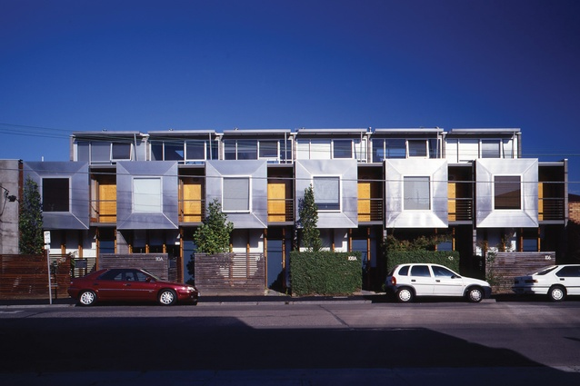 Richmond Townhouses in Melbourne by Rossetti Architects (winner of the Institute's Robin Boyd Award for Housing, 1995).