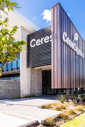 Ceres Organics building.
