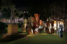 HY William Chan's light sculpture chosen for Vivid Sydney festival