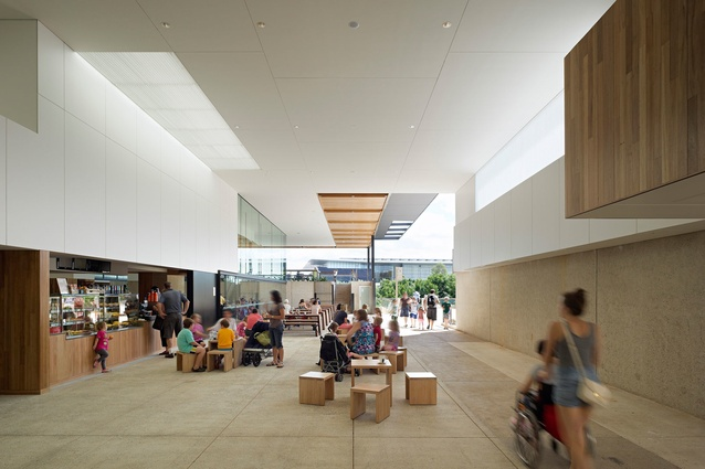 Queensland Museum Refurbishment by Cox Rayner Architects.