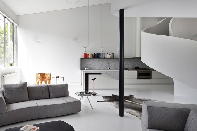 Loft Apartment, West Melbourne by Adrian Amore Architects.