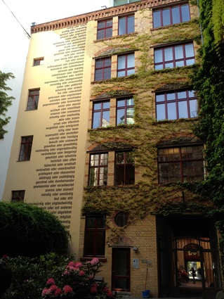 Interlocking courtyards in Berlin.