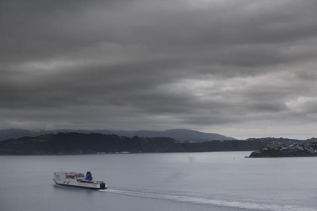 Wellington Harbour.