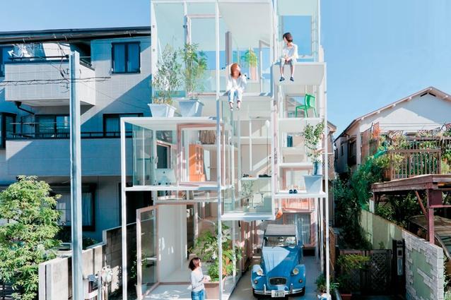 House NA by Sou Fujimoto Architects.sou-fujimoto.net