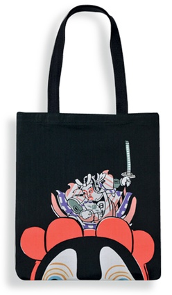 Momotaro Tote Bag by Eirakuya from 