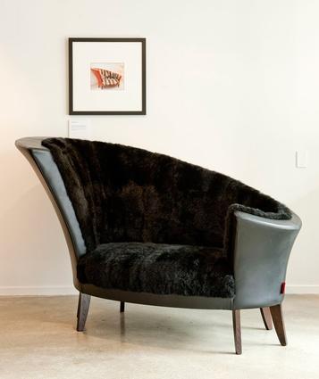 A chair designed by Cruikshank.